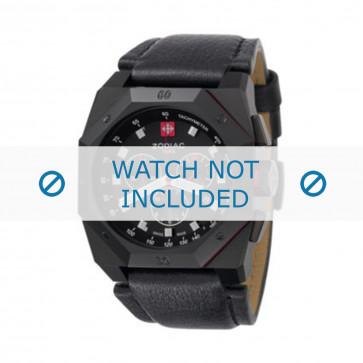 Cinturino per orologio Zodiac ZO1800 Pelle Nero 24mm