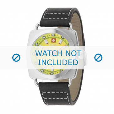 Cinturino per orologio Zodiac ZO2601 Pelle Nero