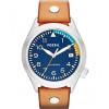 Cinturino per orologio Fossil AM4554 Pelle Marrone 22mm