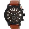 Cinturino per orologio Fossil BQ2052 Pelle Marrone 24mm
