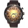 Cinturino per orologio Fossil BQ2080 Pelle Nero 24mm