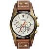 Cinturino per orologio Fossil CH2987 Pelle Marrone 22mm