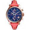 Cinturino per orologio Fossil ES4115 Pelle Rosso 18mm