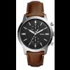 Cinturino per orologio Fossil FS5394SET Pelle Marrone 22mm