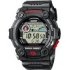 Cinturino per orologio Casio G7900 / G7900-1ER Plastica Nero 16mm