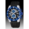 Cinturino per orologio Lotus 15778-D Gomma Nero 26mm