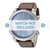 Cinturino per orologio Diesel DZ4330 Pelle Marrone 27mm