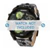 Cinturino per orologio Diesel DZ7311 Pelle Grigio 28mm