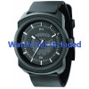 Cinturino per orologio Diesel DZ1262 Gomma Nero 26mm