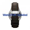 Cinturino per orologio Fossil FS4737 Pelle Marrone 22mm