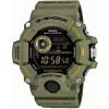 Cinturino per orologio Casio GW-9400-3 / GW-9400-1 Plastica Verde 20mm