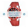 Cinturino per orologio Lotus 15778-2 Gomma Rosso 26mm