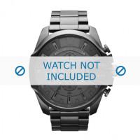 Cinturino per orologio Diesel DZ4282 Acciaio Grigio antracite 26mm