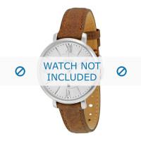 Cinturino per orologio Fossil ES3708 Pelle Marrone 14mm