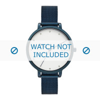 Skagen cinturino dell'orologio SKW2579 Metallo Blu 12mm