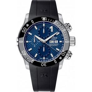 Cinturino per orologio Edox 01122 Silicone Nero