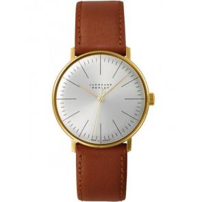 Cinturino per orologio Junghans 027/5703.00 Pelle Marrone chiaro