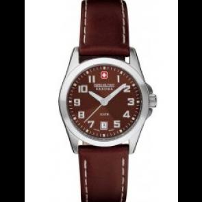 Cinturino per orologio Swiss Military Hanowa 06-6030.04.005.05 / 6-6030 Pelle Marrone 15mm