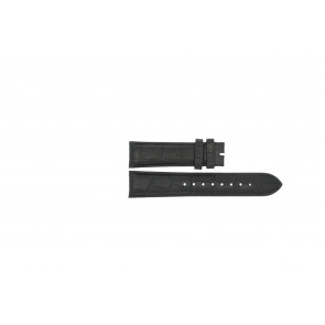 Cinturino per orologio Esprit ES103342006 Pelle Nero 20mm