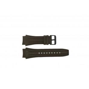 Police cinturino dell'orologio 13891JSB-12 Pelle Marrone 24mm + cuciture marrone