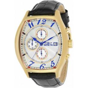 Cinturino per orologio Invicta 14330.01 Pelle Nero 22mm