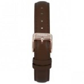 Cinturino per orologio Prisma 1441 Pelle Marrone scuro 14mm