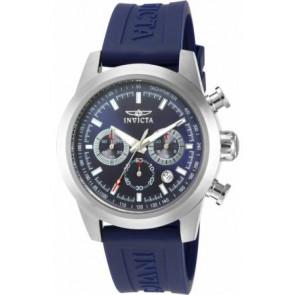 Cinturino per orologio Invicta 15200-01 Silicone Blu 22mm