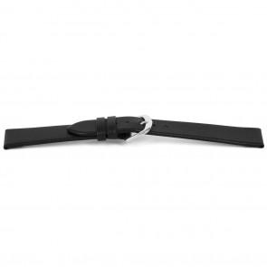 Cinturino per orologio Universale F154 Italian Pelle Nero 18mm