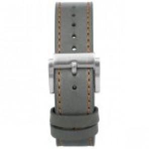 Cinturino per orologio Prisma 1591 Pelle Grigio 22mm