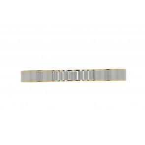 Cinturino dell'orologio 16BI Metallo Argento 16mm
