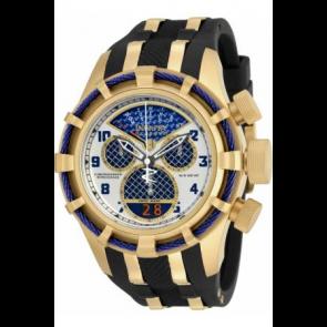 Cinturino per orologio Invicta 17465 (17465.01) Acciaio/Silicone Nero