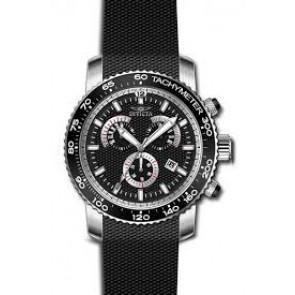 Cinturino per orologio Invicta 17773 Silicone Nero 22mm
