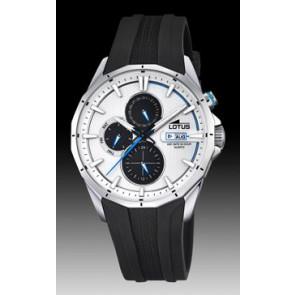 Lotus cinturino dell'orologio 18320/1 Silicone Nero