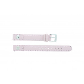 Lacoste cinturino dell'orologio 2000387 / LC-05-3-14-0009 Pelle Rosa 12mm + cuciture di default