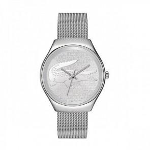 Lacoste cinturino dell'orologio 2000810 / LC-71-3-14-2469 Metallo Argento 18mm