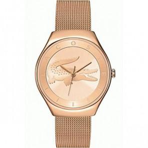 Lacoste cinturino dell'orologio 2000872 / LC-71-3-34-2538 Metallo Salito 18mm