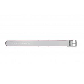 Lacoste cinturino dell'orologio 2000890 / LC-84-3-14-2596 Silicone Rosa 18mm