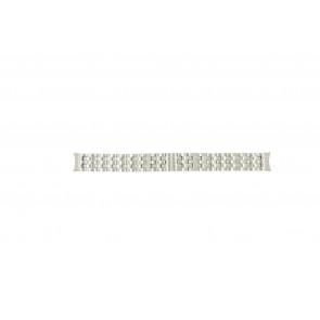 Mondaine cinturino dell'orologio A629-30341-16 / BM20032 Metallo Argento 16mm