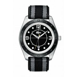 Cinturino per orologio Lacoste 2010575 / LC-53-1-34-2267 Pelle Nero 24mm