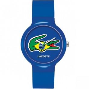 Lacoste cinturino dell'orologio LC-46-4-47-2503 / 2020069 / 20mm Gomma Multicolore 14mm