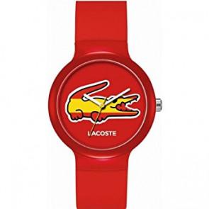 Lacoste cinturino dell'orologio LC-46-4-47-2504 /2020071 / 20mm Gomma Multicolore 14mm