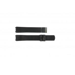 Cinturino per orologio Skagen 233STMB Acciaio Nero 18mm