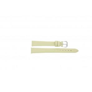 Cinturino per orologio Condor 241R.00.12 Pelle Bianco crema 12mm