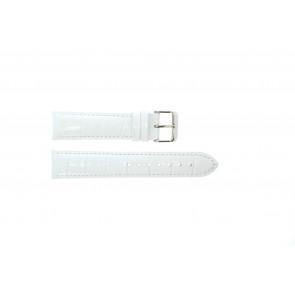 Cinturino per orologio Universale 285.09 Pelle Bianco 20mm