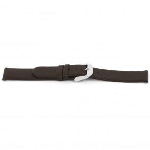 Cinturino per orologio Universale D300 Cuoio morbido Marrone 14mm