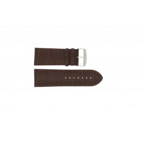 Cinturino orologio di vitello di bufalo, marrone, 36mm 305