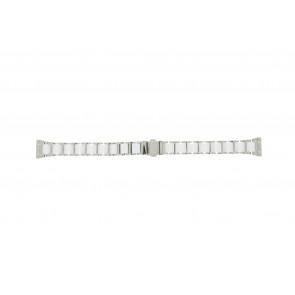 Boccia cinturino dell'orologio 3261-01 Acciaio/Silicone Argento 16mm