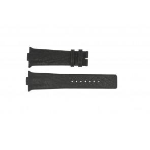 Cinturino per orologio Boccia 3519-02 / 3519-03 Pelle Nero 28mm