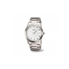 Cinturino per orologio Boccia 3550 - 01 Acciaio Acciaio 22mm