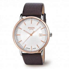 Cinturino per orologio Boccia 3557-04 Pelle Marrone 21mm